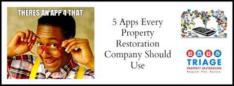 Apps for Property Restoration Businesses