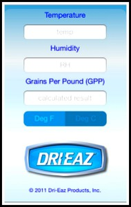 Dri-Eaz App