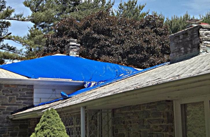 Cleaning of Roof and Gutters